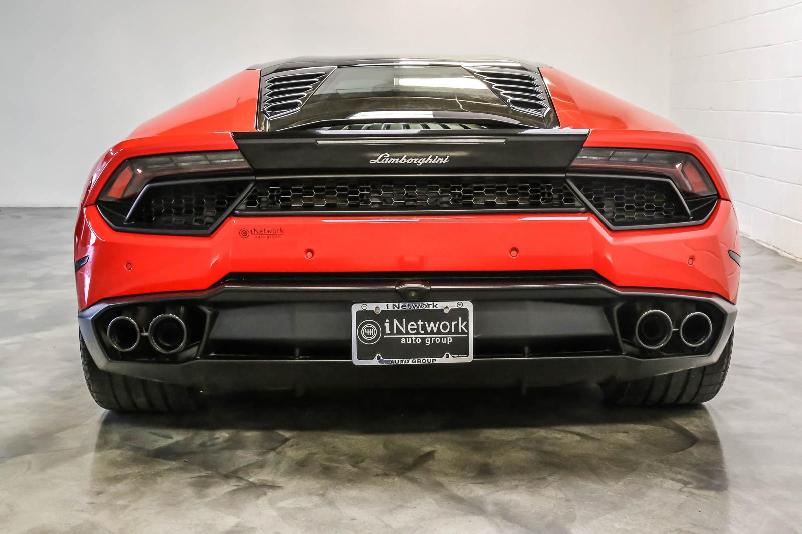 Used 2016 Lamborghini Huracan Lp580 2 For Sale 179 891 Inetwork