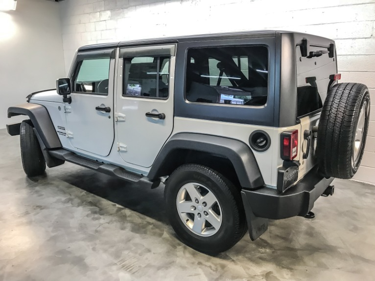 Used 2015 JEEP WRANGLER UNLIMITED S Unlimited Sport