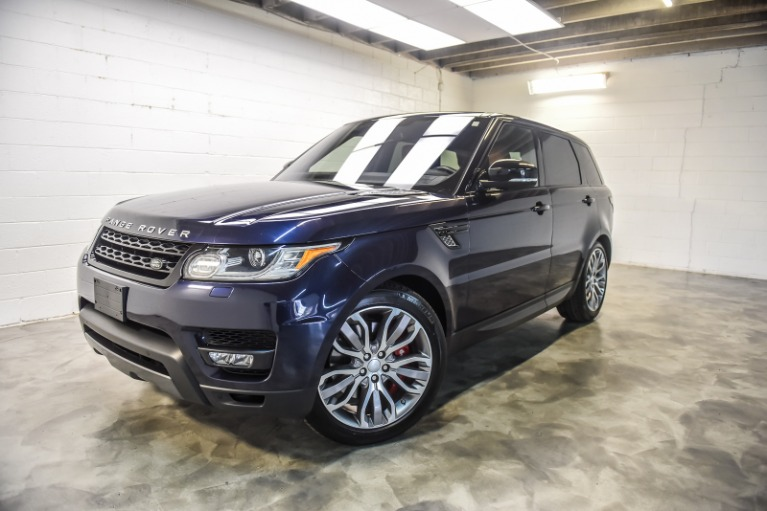 Used 2016 Land Rover Range Rover Sport 50L V8 Supercharged