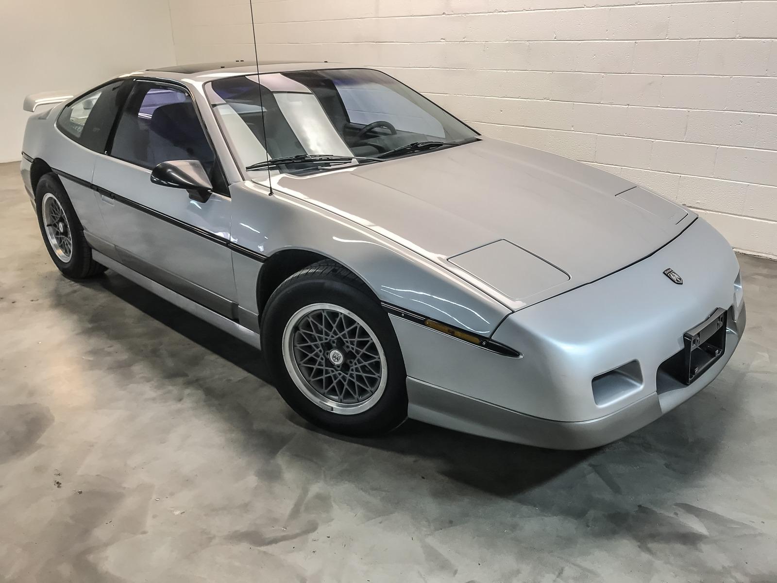 Used 1987 PONTIAC FIERO GT