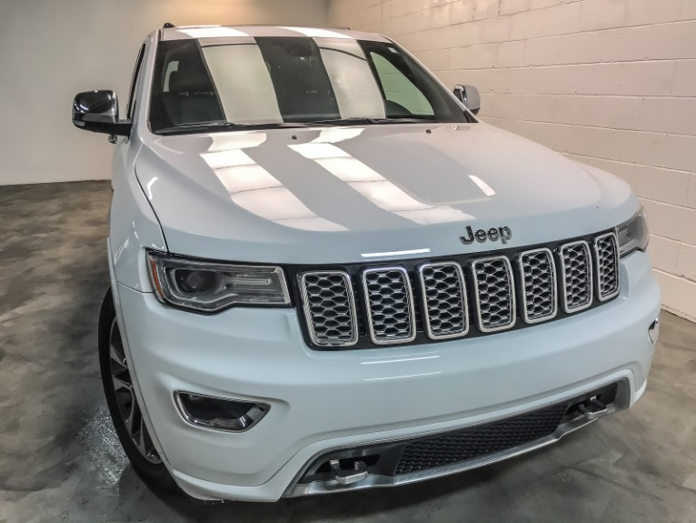 Used 2017 JEEP GRAND CHEROKEE OVERL Overland