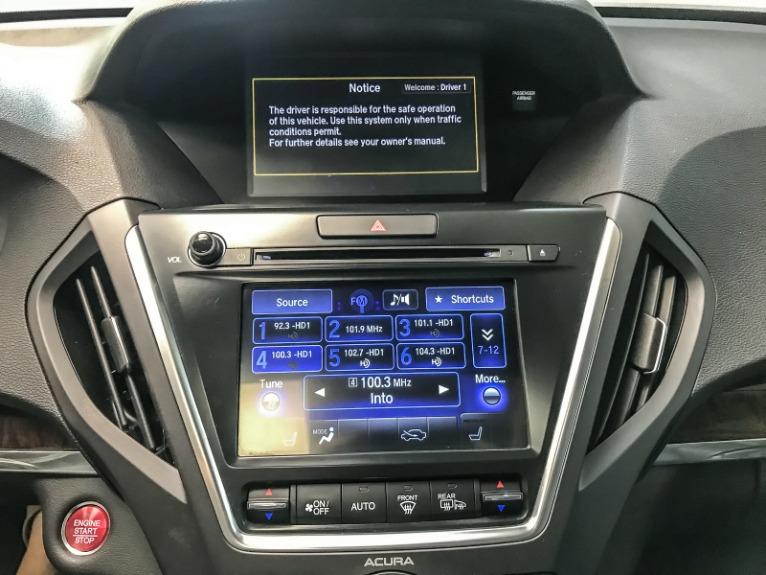 Used 2017 ACURA MDX TECH SH AWD wTech