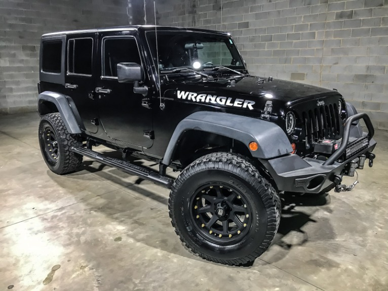 Used 2013 JEEP WRANGLER UNLIMITED S