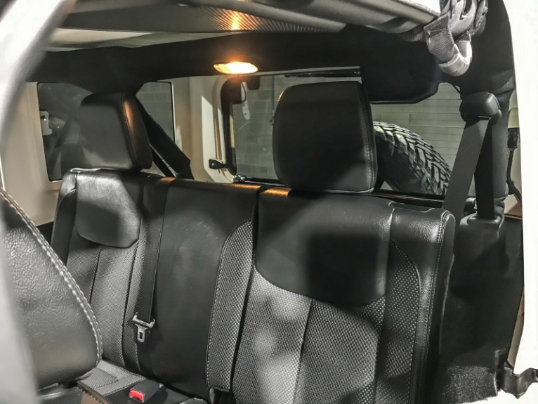 Used 2016 JEEP WRANGLER UNLIMITED S Backcountry
