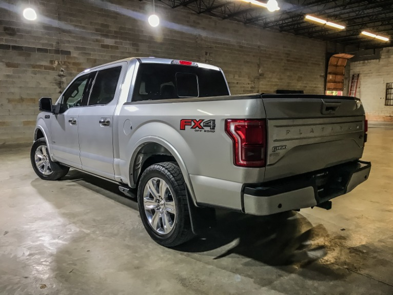 Used 2016 FORD F150 SUPERCREW Platinum