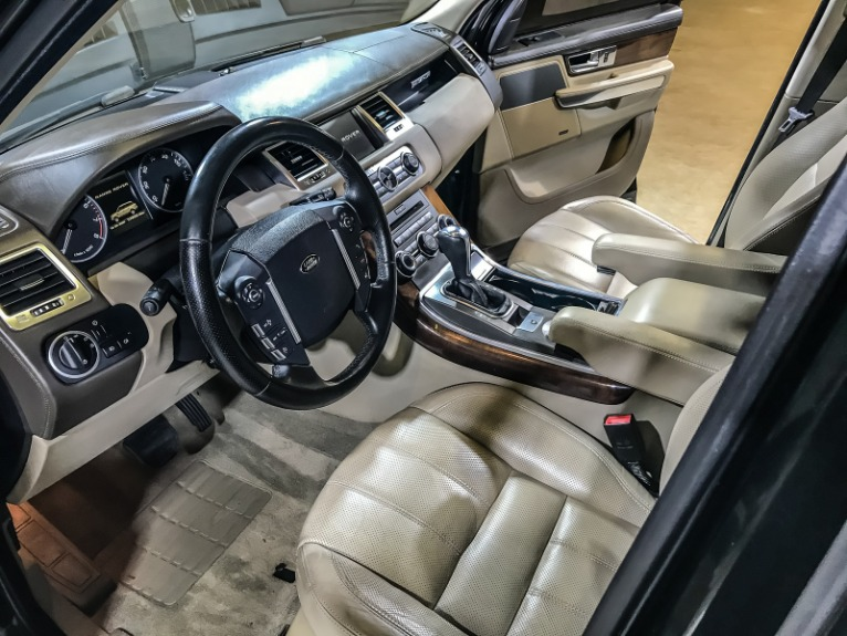 Used 2010 LAND ROVER RANGE ROVER SPORT LU HSE