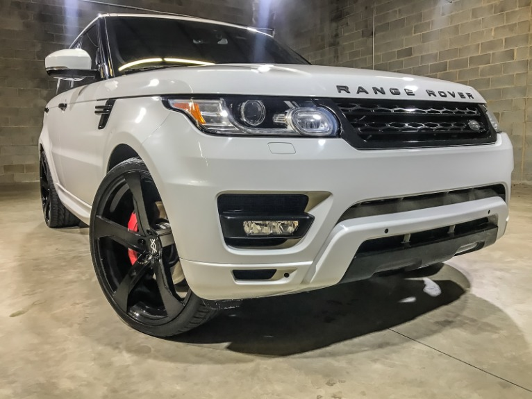Used 2014 LAND ROVER RANGE ROVER SPORT SC Supercharged