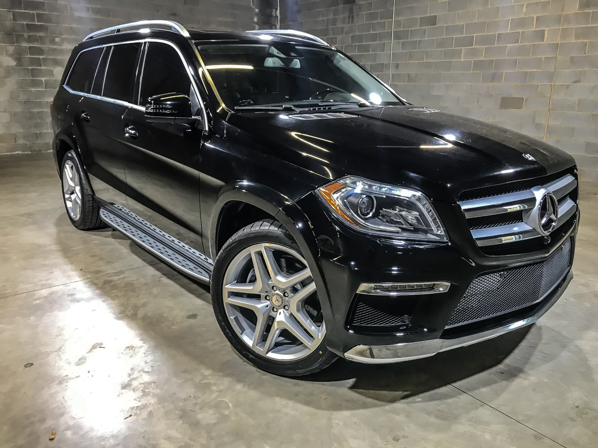 Used 2015 Mercedes Benz GL550 4 MATIC GL 550 4MATIC