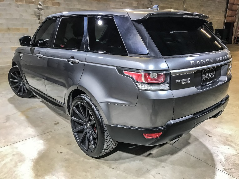 Used 2015 LAND ROVER RANGE ROVER SPORT HS