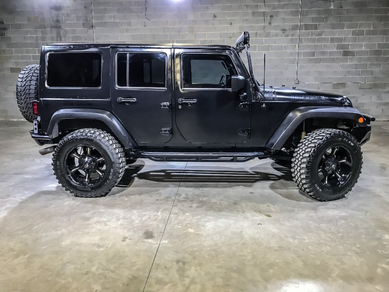 Used 2012 JEEP WRANGLER UNLIMITED S Sahara